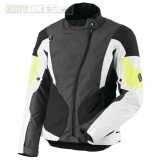 Dámská moto bunda SCOTT Technit DP grey/yellow XL