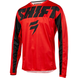 MX dres Shift WHIT3 YORK Jersey red