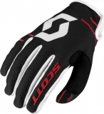 SCOTT glove 350 DIRT red/black
