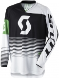 MX dres Scott 350 Track black/white
