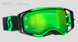 Moto brýle SCOTT Prospect black/fluo green chrome works