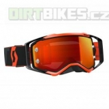 Moto brýle SCOTT Prospect black/fluo orange chrome works