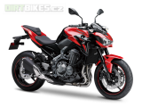 KAWASAKI Z900 MY18 Candy Persimmon RED/ METALLIC SPARK BLACK