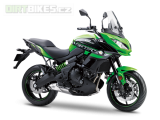 1. KAWASAKI VERSYS 650 ABS MY18 Candy Lime Green / Metallic Spark Černá