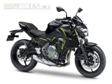 1.KAWASAKI Z650 ABS MY18 Metallic Spark Black