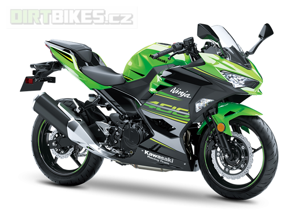 KAWASAKI NINJA 400 MY19 KRT Edition LIME GREEN / EBONY