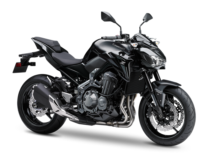 1.KAWASAKI Z900 MY18 METALLIC FLAT SPARK BLACK / METALLIC SPARK BLACK