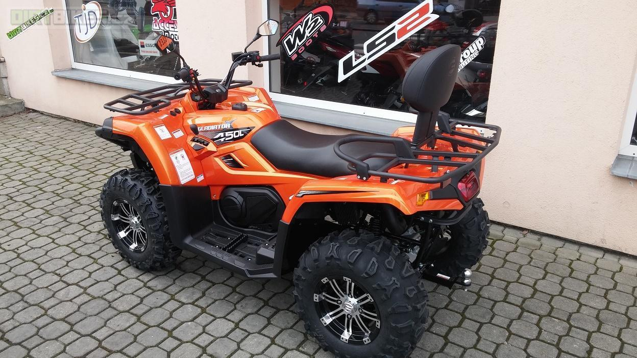 Gladiator X450-A EFI T3 black edition