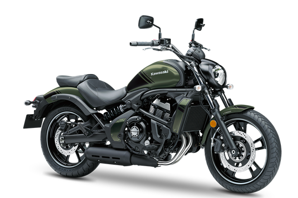 3. KAWASAKI VULCAN S ABS MY19 Metallic mat green