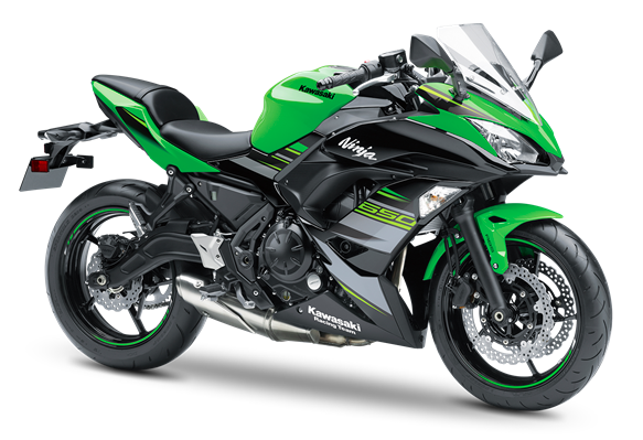 KAWASAKI NINJA 650 MY19 KRT Edition LIME GREEN / EBONY