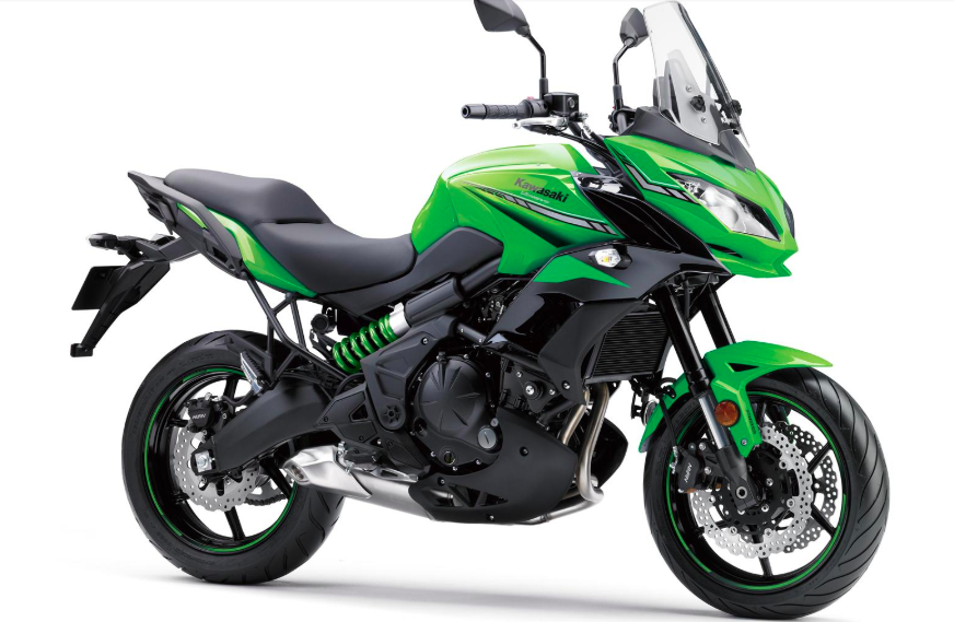 2. KAWASAKI VERSYS 650 ABS MY19 Candy Lime Green/Metallic Spark black