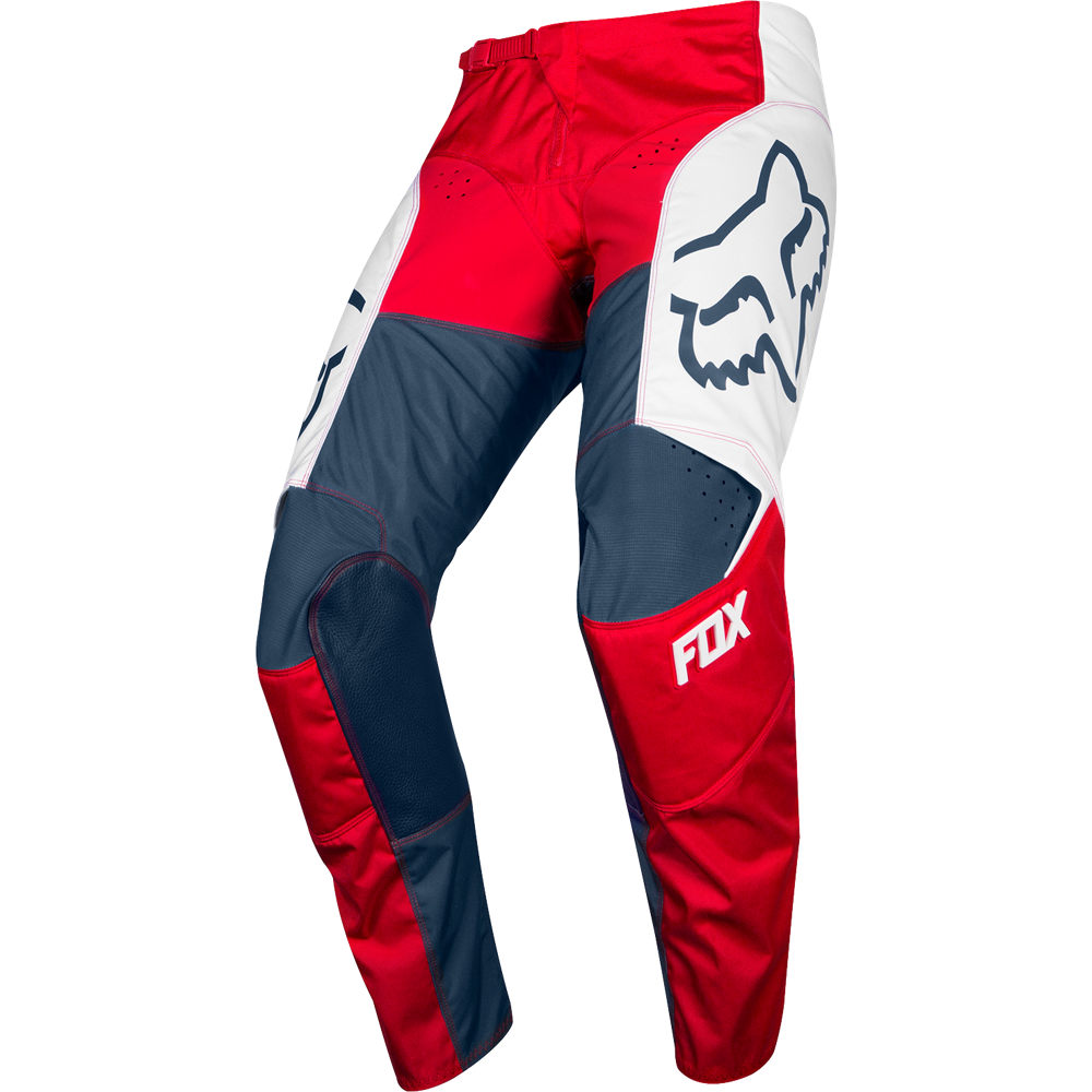 926e41cce90 MX kalhoty Fox 180 Przm Pant navy red