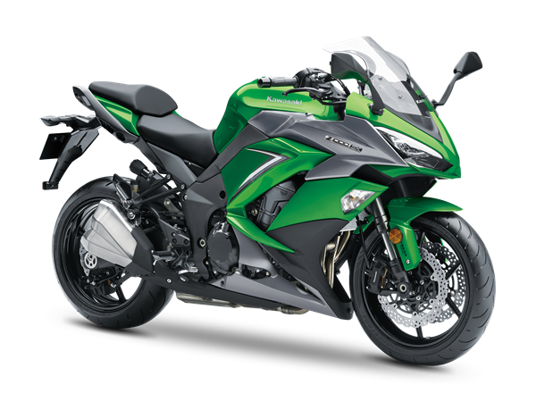 Kawasaki Z1000SX MY2019 Emerald Blazed Green / Metallic Carbon Mat Gray / Metallic Graphite