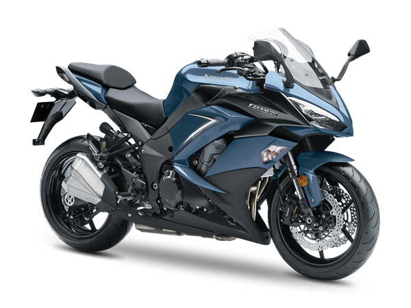 Kawasaki Z1000SX MY2019Stormcloud blue /metallic mat karbon grey