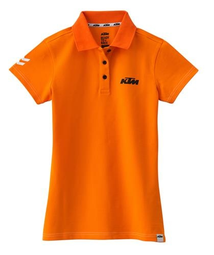 KTM Dámské triko GIRLS RACING POLO ORANGE