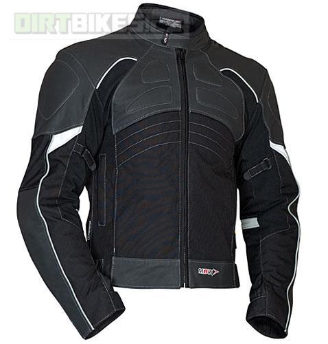 MBW Lanta - moto bunda kůže + textil