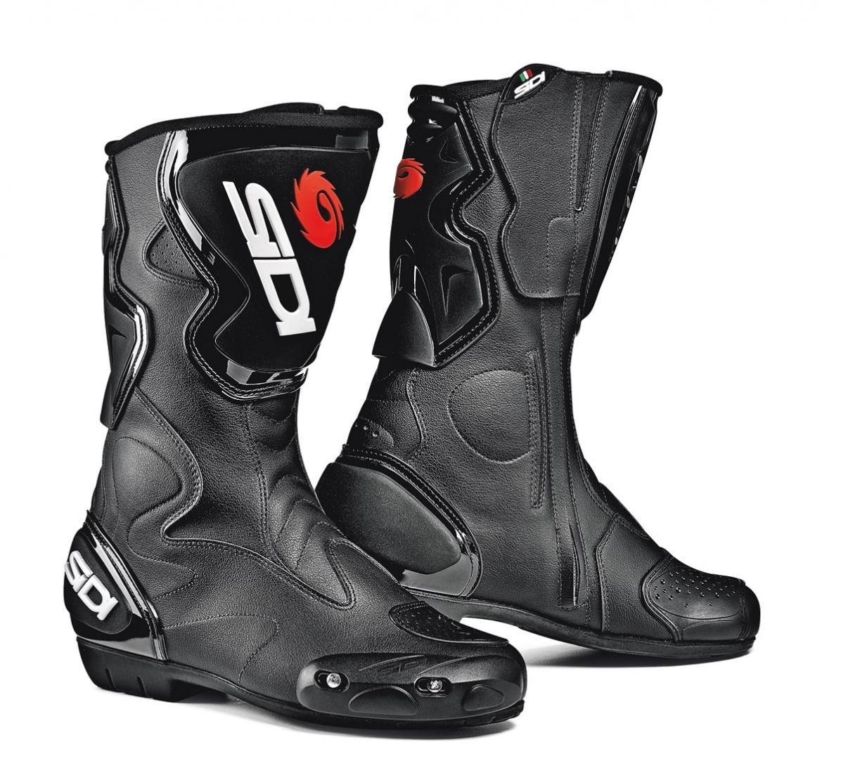 25292eee875 motocyklové boty SIDI FUSION black