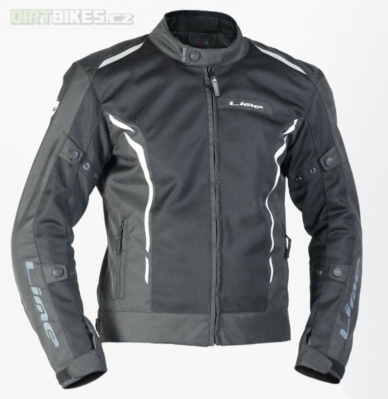 MBW Lime Summer Jacket - dámská i pánská textilní moto bunda
