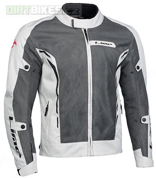 MBW Lime Summer Beige Jacket - dámská i pánská textilní moto bunda