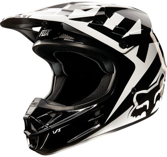 Pánská MX helma Fox Racing V1 Race Helmet Black