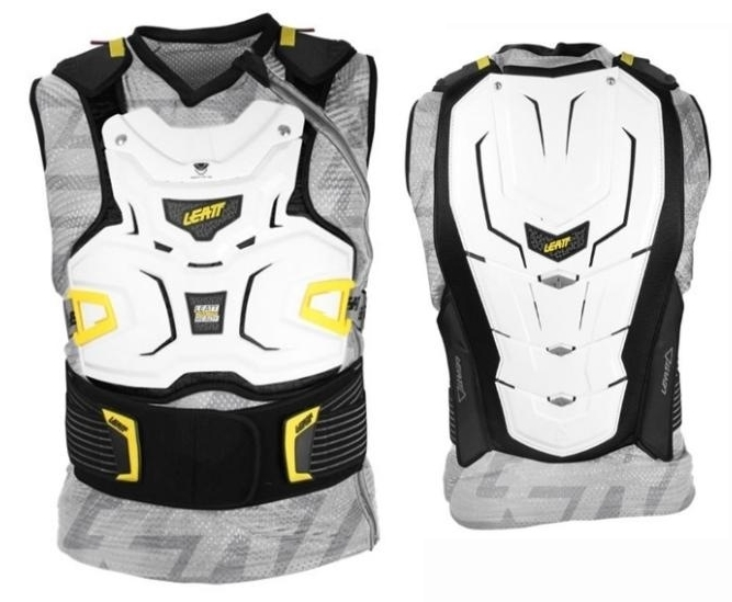 Ochranná vesta Leatt Adventure Body Vest White