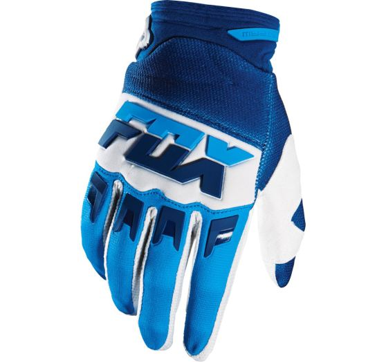 Pánské MX rukavice Fox Racing Dirpaw Mako Glove White