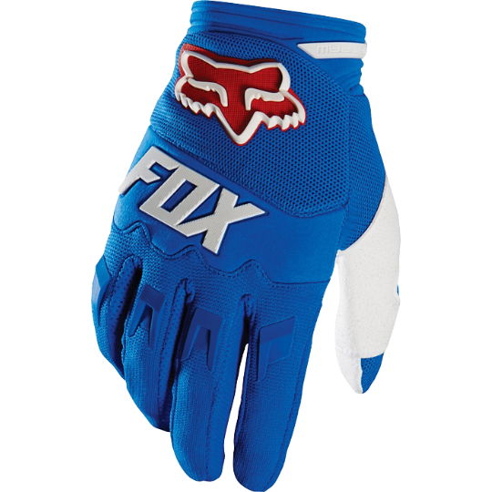 Pánské MX rukavice Fox Racing Dirpaw Mako Glove Blue