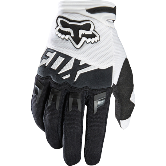 Pánské MX rukavice Fox Racing Dirpaw Mako Glove Black/White
