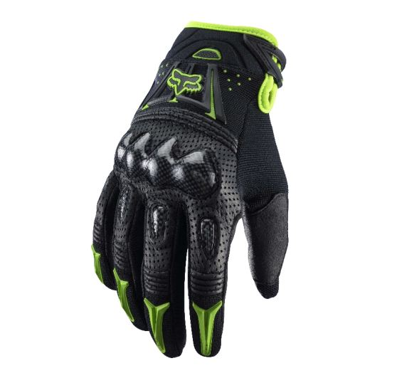 Fox Bomber rukavice Bomber Glove Black/Green