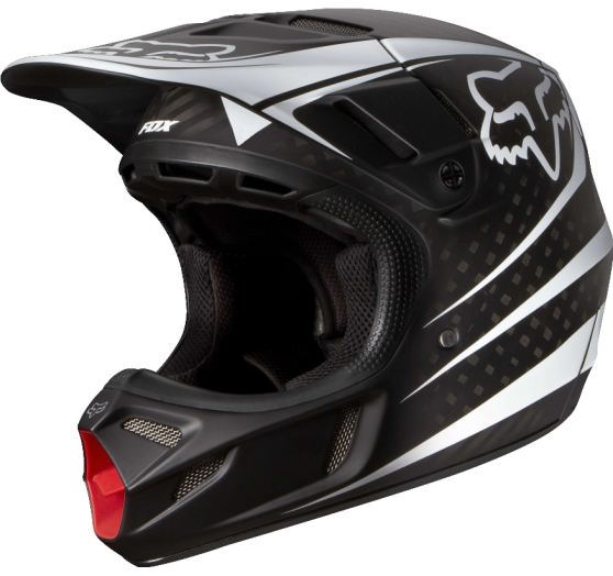 Fox Pánská MX helma Fox Racing V4 Carbon Reveal Helmet, Ece