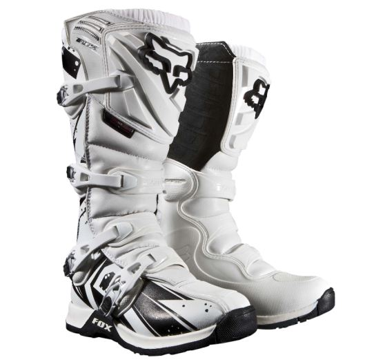 FOX Pánské MX boty Fox Racing Comp 5 Undertow Boot White