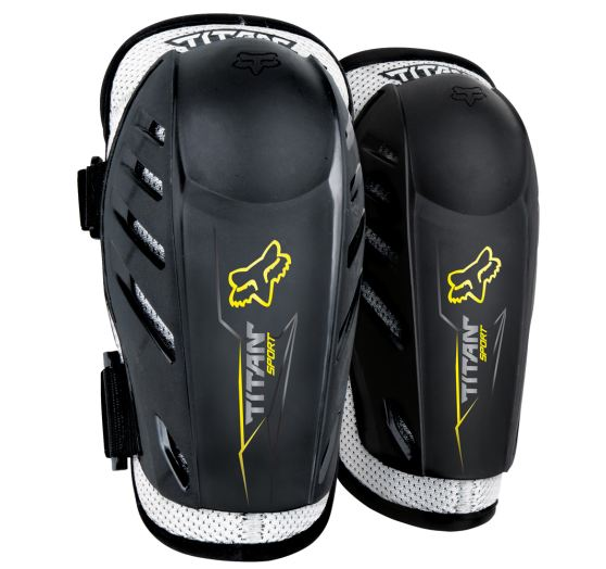 Fox Pánský MX chránič Fox Racing Titan Sport Elbow Guard Black
