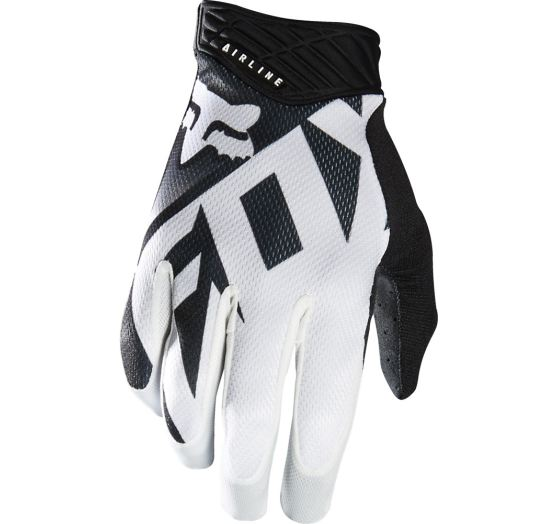 Pánské MX rukavice Fox Racing Shiv Airline Glove Black