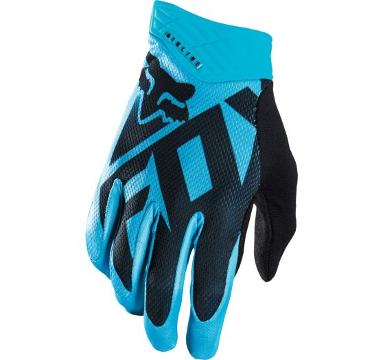 Pánské MX rukavice Fox Racing Shiv Airline Glove blue