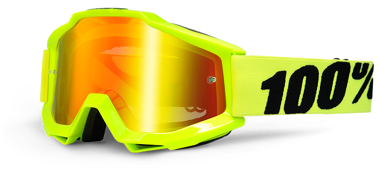 Brýle MX 100% ACCURI FLUO YELOW