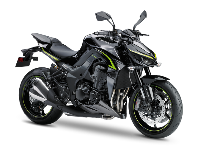 7.KAWASAKI Z1000 R Edition METALLIC SPARK BLACK / METALLIC GRAPHITE GRAY