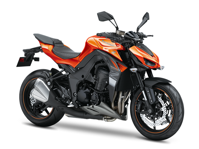 7.KAWASAKI Z1000 CANDY BURNT ORANGE / FLAT EBONY