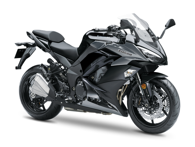 6.KAWASAKI Z1000SX  METALLIC SPARK BLACK / METALLIC GRAPHITE GRAY