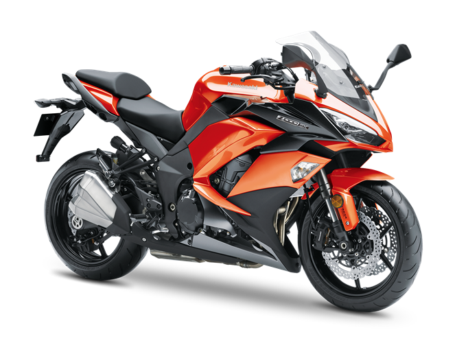 6.KAWASAKI Z1000SX CANDY BURNT ORANGE / METALLIC CARBON GRAY