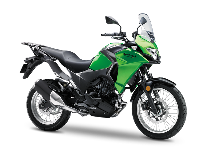 3.KAWASAKI Versys-X 300 CANDY LIME GREEN