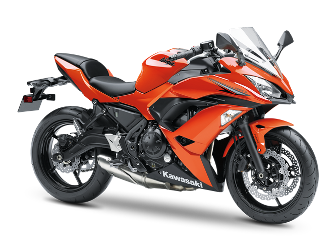 4.KAWASAKI NINJA 650 CANDY BURNT ORANGE