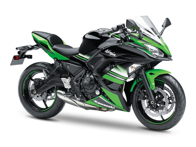 4.KAWASAKI NINJA 650 KRT Edition LIME GREEN / EBONY