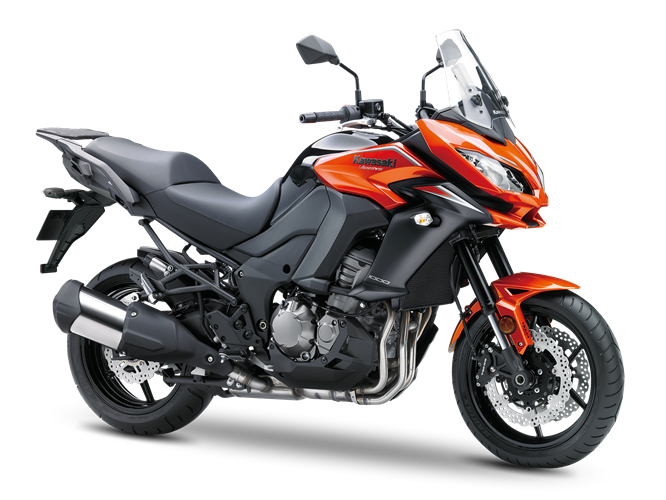 5.KAWASAKI VERSYS 1000 CANDY BURNT ORANGE / FLAT EBONY