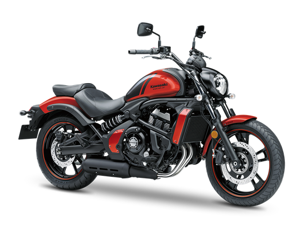 3. KAWASAKI VULCAN S ABS MY18 Pearl Lava Orange