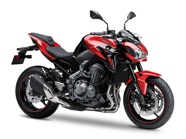 1.KAWASAKI Z900 MY18 Candy Persimmon RED/ METALLIC SPARK BLACK