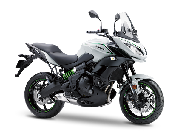 2. KAWASAKI VERSYS 650 ABS MY18 Pearl Blizzard White / Metallic Spark Black