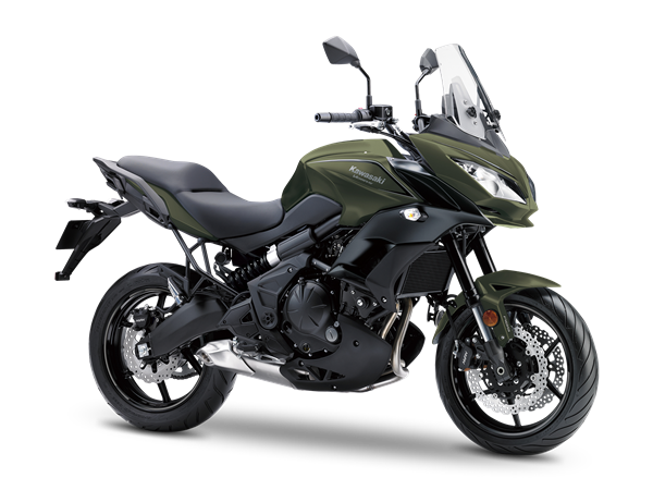 2. KAWASAKI VERSYS 650 ABS MY18 Metallic Matte Covert Green / Metallic Flat Spar