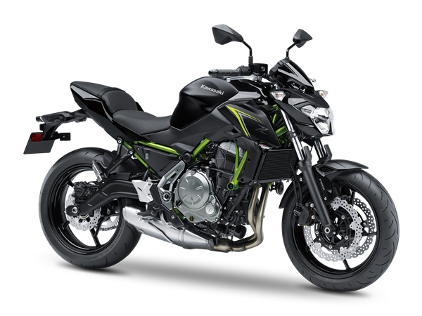 2.KAWASAKI Z650 ABS MY18 Metallic Spark Black