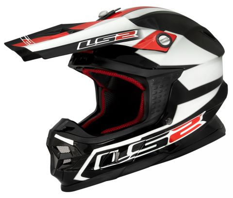 LS2 MX456 LAUNCH BLACK