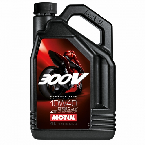 Motul 300V Factory line Road Racing 10W40 4l